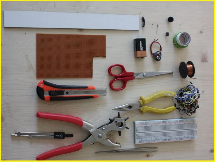 компоненты для сборки простого металлоискателя своими руками